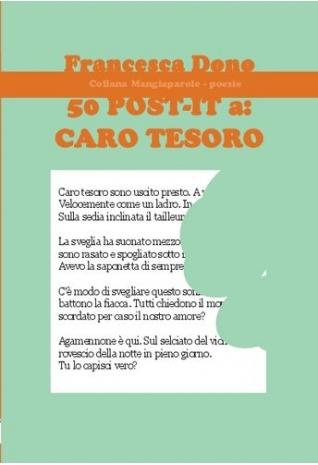 50 post-it a caro tesoro,...
